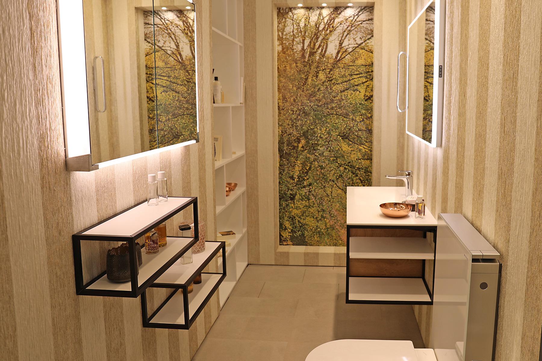 badewelten loesungen auch fuer kleine flaechen 1. Black Bedroom Furniture Sets. Home Design Ideas